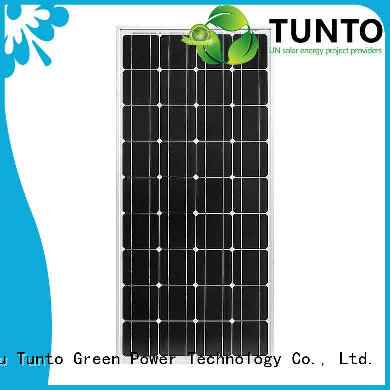Tunto high quality polycrystalline solar panel supplier for household