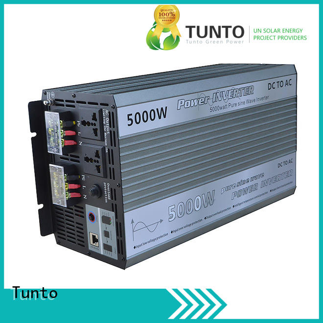 Tunto sine off grid solar inverter factory price for car