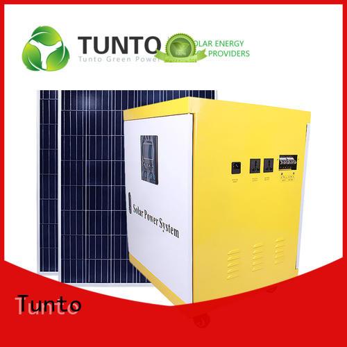 Tunto 600w off grid solar panel kits customized for outdoor