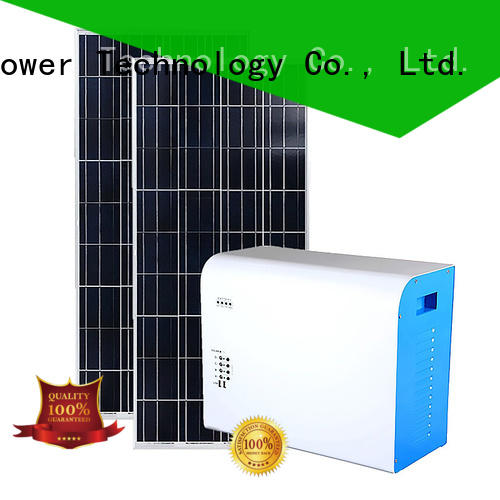 Tunto portable solar charging system customized for home