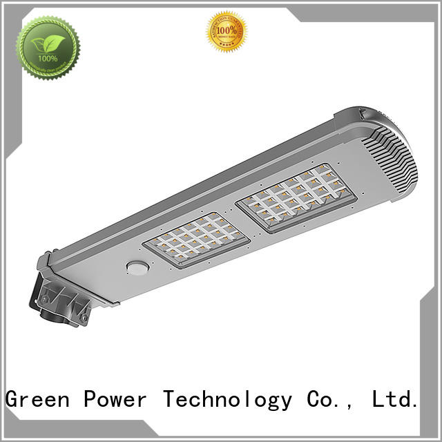 60w solar powered yard lights factory price for parking lot