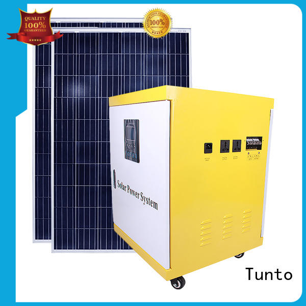 Tunto monocrystalline solar panel directly sale for street