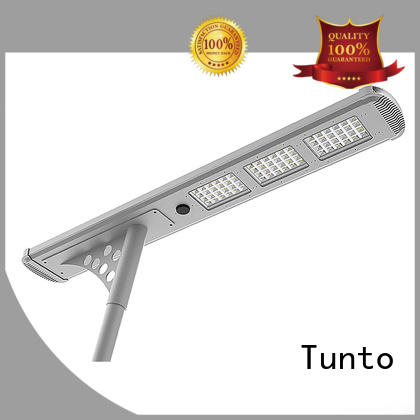 Custom motion solar powered street lights lamp Tunto