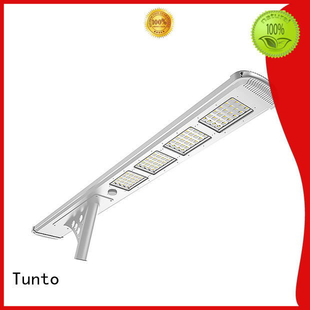 60w best solar street lights factory price for plaza Tunto