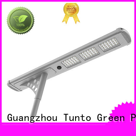 Tunto cool solar street light manufacturer supplier for road