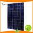 Tunto 150w monocrystalline solar panel personalized for solar plant