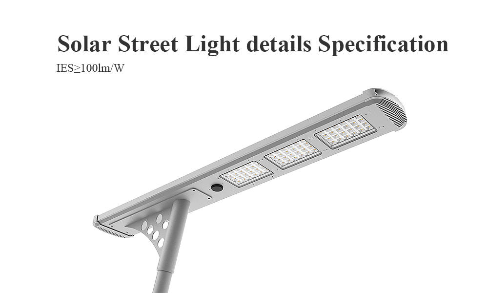 4000lm solar powered street lights supplier for plaza-1