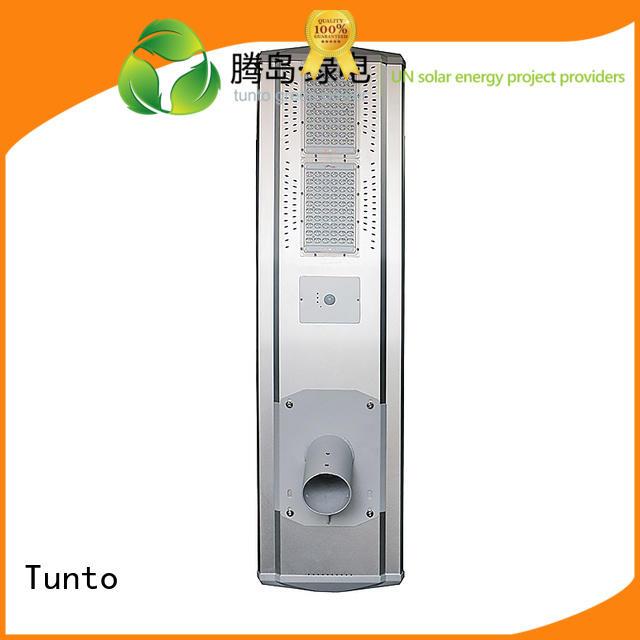 lot bright solar powered street lights Tunto Brand