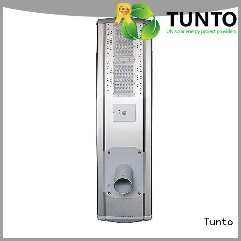motion sensor all in one solar panel manufacturer for plaza Tunto