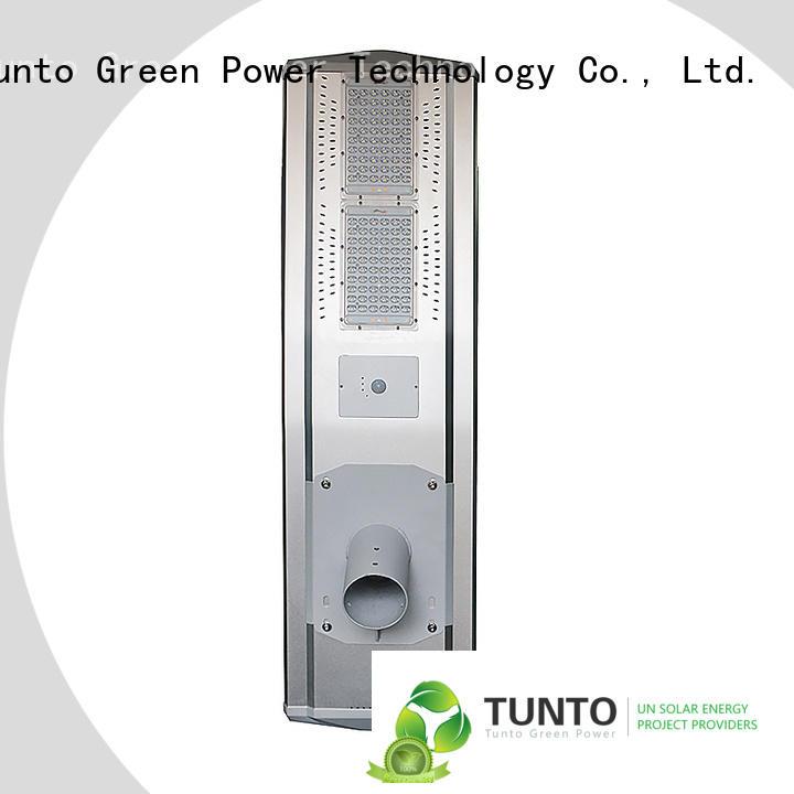 smart solar street light for plaza Tunto