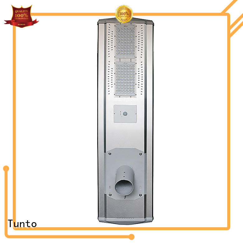 cool solar powered led pole lights supplier for parking lot