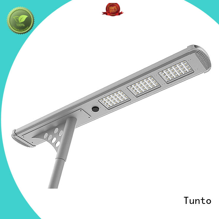 intelligent solar powered street lights price system for parking lot Tunto