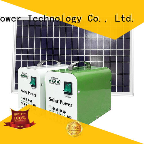 hot selling portable solar power system factory for camping
