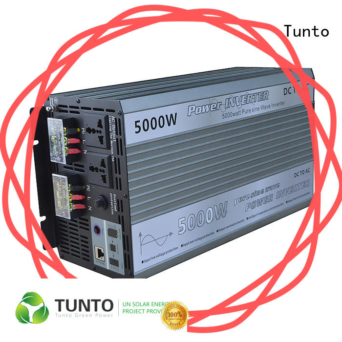 Tunto carborne best solar inverters personalized for lights