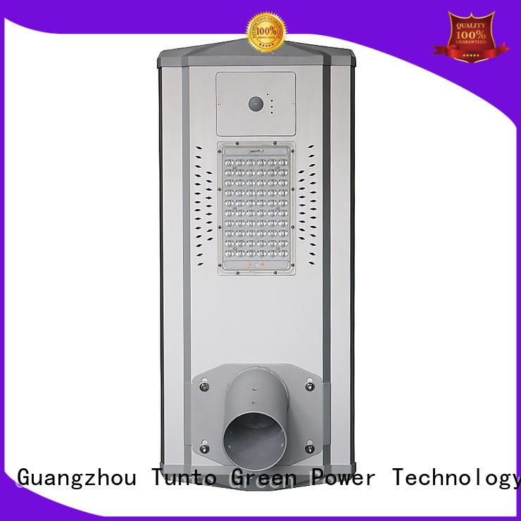 Tunto solar powered street lights wholesale for parking lot