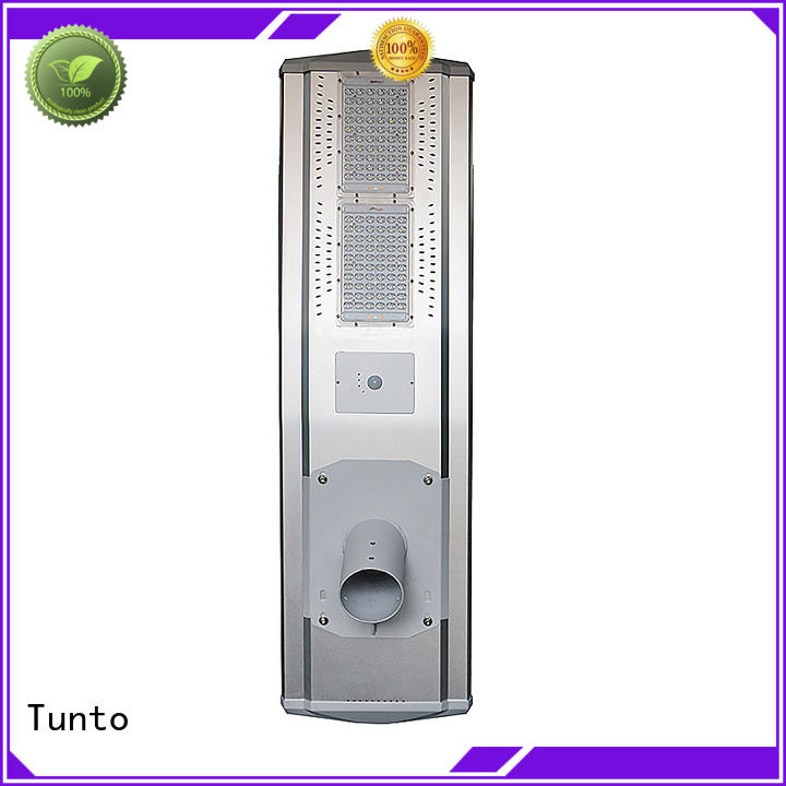 Tunto Brand waterproof outdoor solar powered street lights manufacture