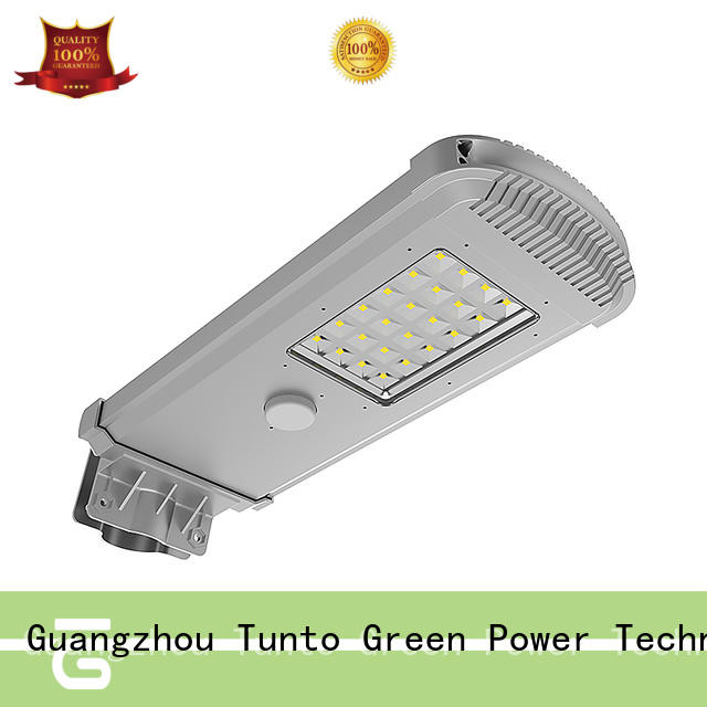 Tunto 60w solar panel outdoor lights factory price for plaza