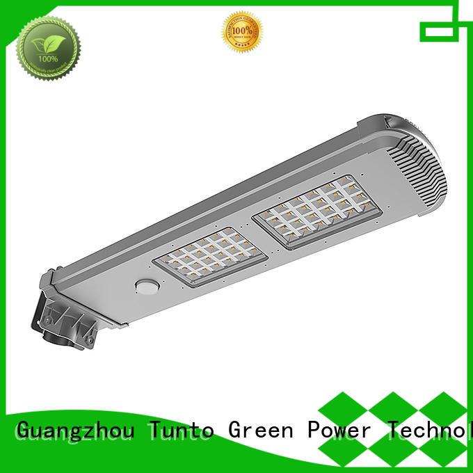 Tunto commercial solar street lights supplier for outdoor