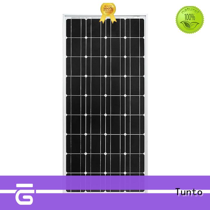 Tunto polycrystalline portable solar panels for sale supplier for farm