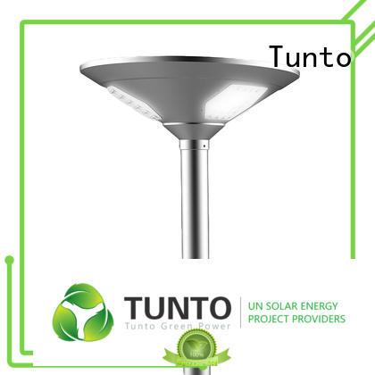 Tunto decorative solar garden lights with good price for plaza