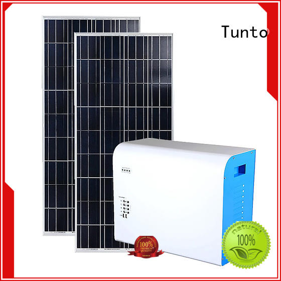 Tunto off grid solar kits series for plaza