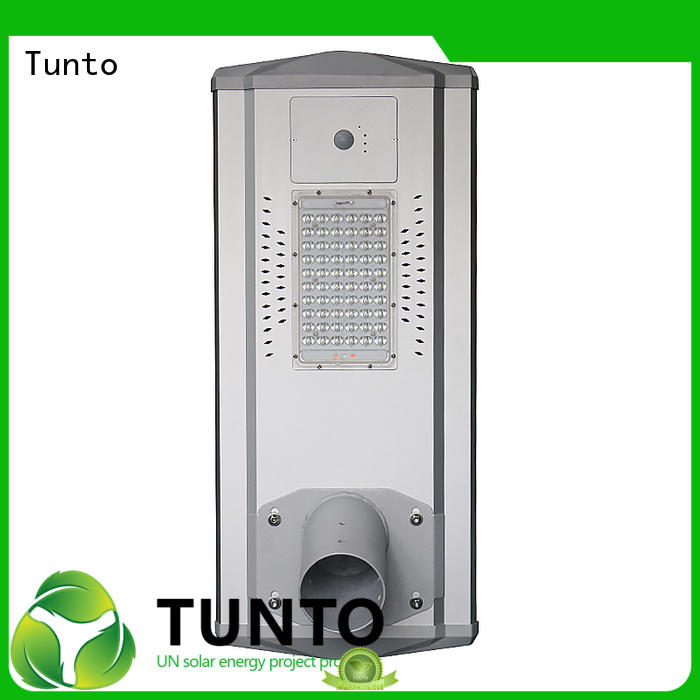 Tunto solar street light working wholesale for road