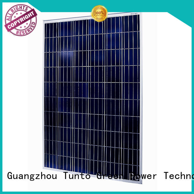 panel crystalline poly crystalline polycrystalline solar panel Tunto