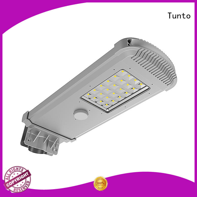 60w solar powered parking lot lights factory price for road