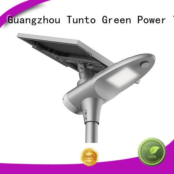 integrated solar led street light street solar powered street lights Tunto Brand