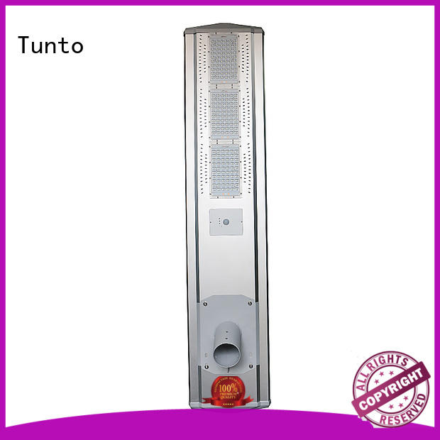 Tunto solar panel street lights personalized for outdoor