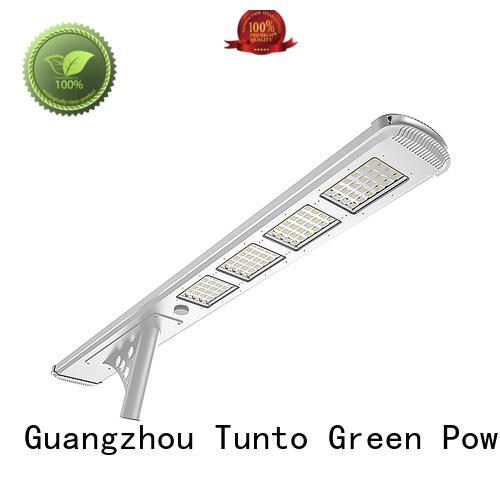 Tunto Brand motion led lighting solar powered street lights