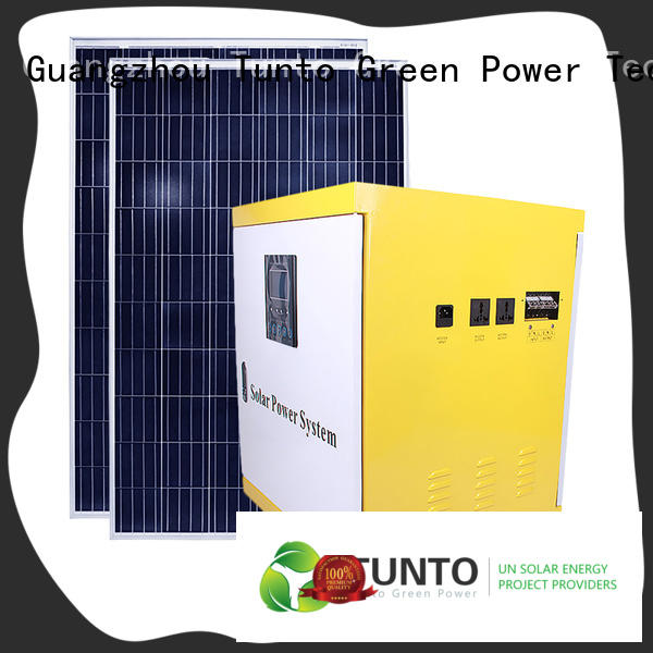 500w off grid solar power systems series for street