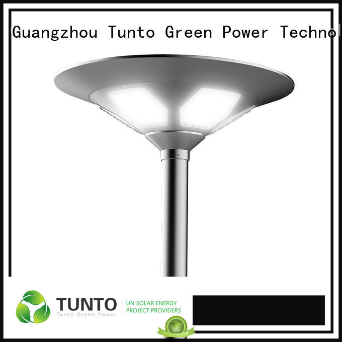 Tunto 15w outdoor solar garden lights design for household
