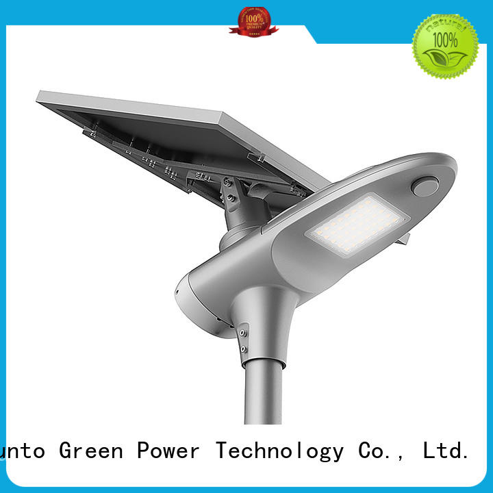 Tunto Brand outdoor sensor custom integrated solar led street light