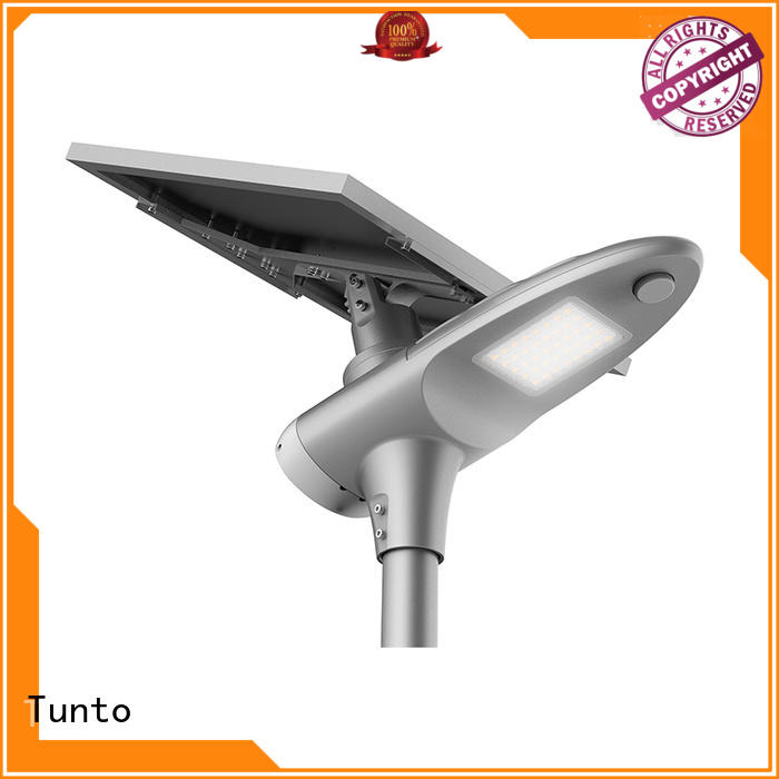 Tunto Brand all powered solar powered street lights manufacture