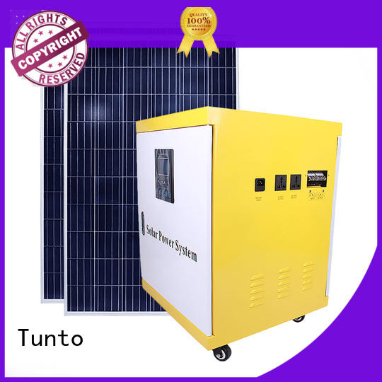 Hot polycrystalline solar panel inverter Tunto Brand