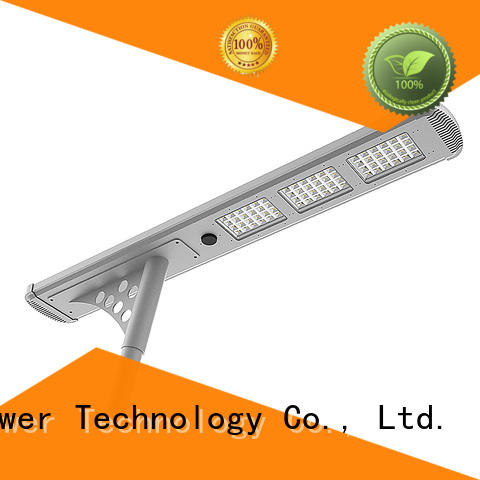 Tunto Brand power battery solar powered street lights manufacture