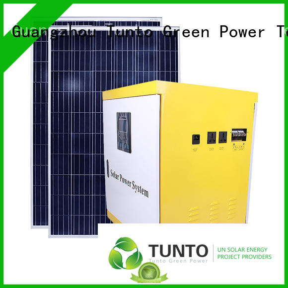 Tunto 500w monocrystalline solar panel series for outdoor