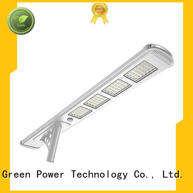 4000lm solar street lighting system wholesale for outdoor