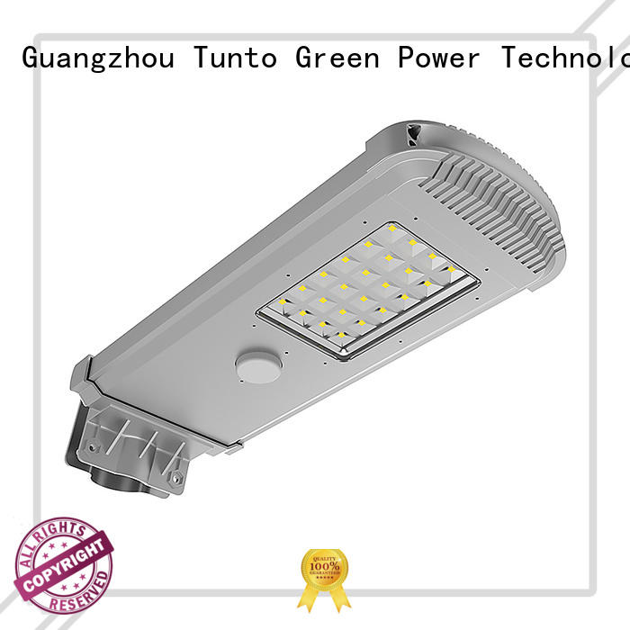 system supper Tunto Brand solar powered street lights