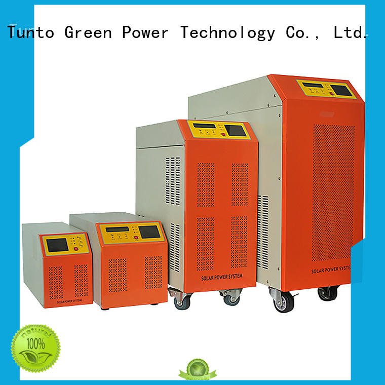 Tunto hybrid solar inverter factory price for street lights