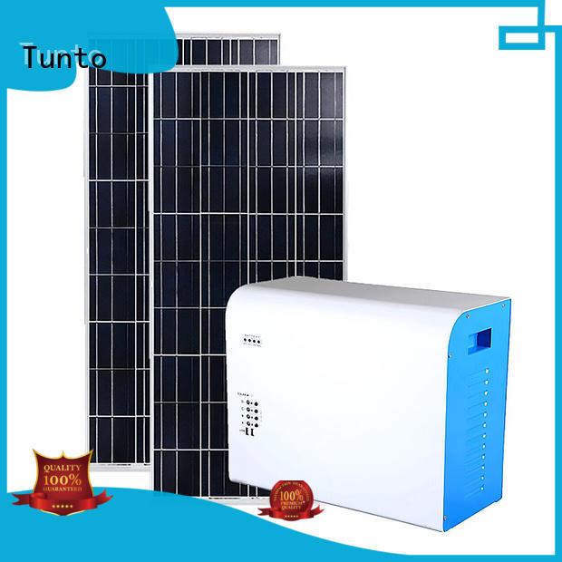 Tunto Brand solar system led street light solar system potable supplier