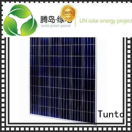 Hot crystalline discount solar panels module Tunto Brand