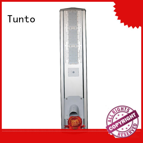 one solar powered street lights control Tunto company
