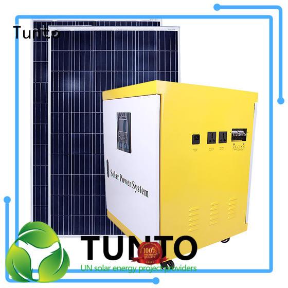 Hot polycrystalline solar panel home Tunto Brand