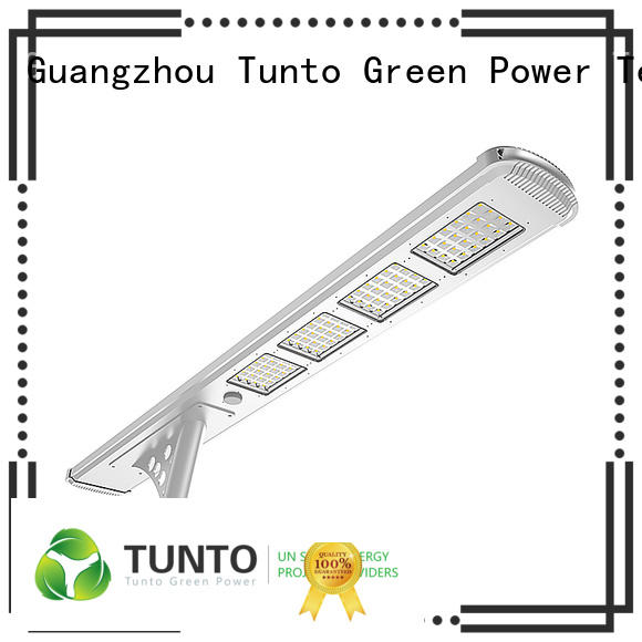 Tunto 60w outdoor solar spot lights personalized for plaza