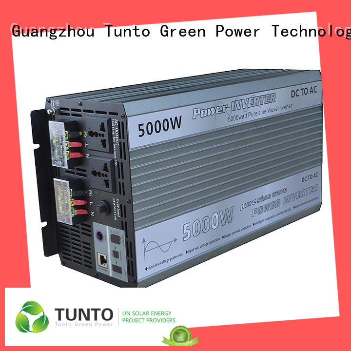 pure solar inverter system factory price for street lights