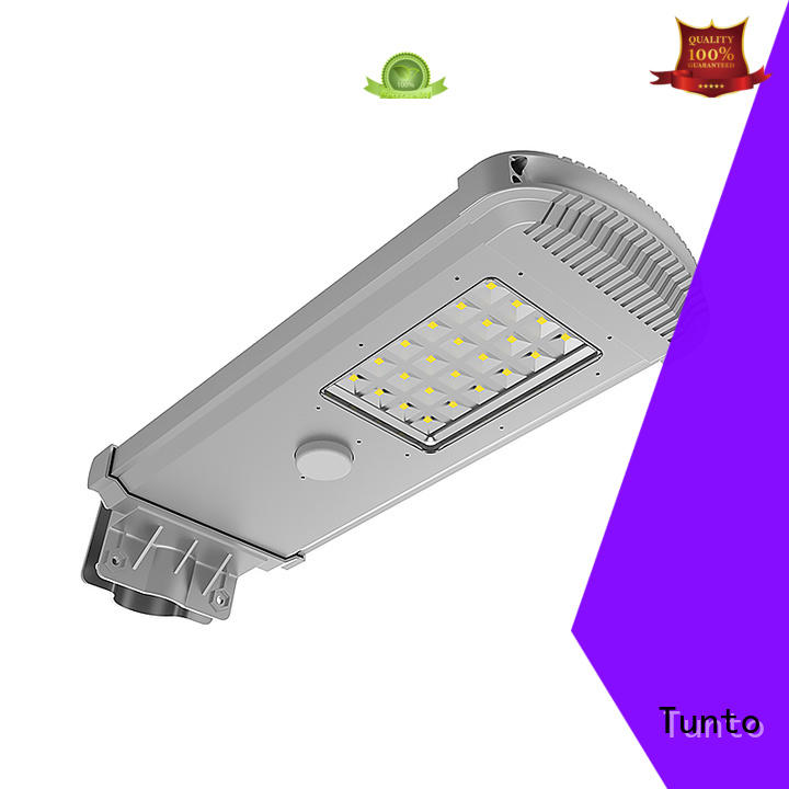 Tunto 50w solar parking lot lights personalized for road