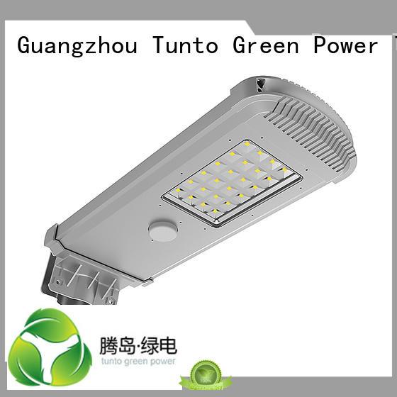 Tunto Brand street integrated solar led street light lighting supplier