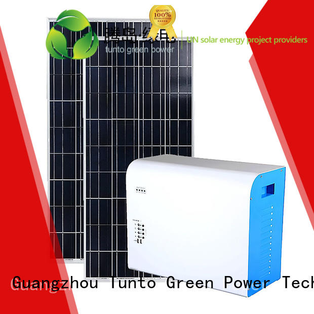 led street light solar system mini potable polycrystalline solar panel Tunto Brand